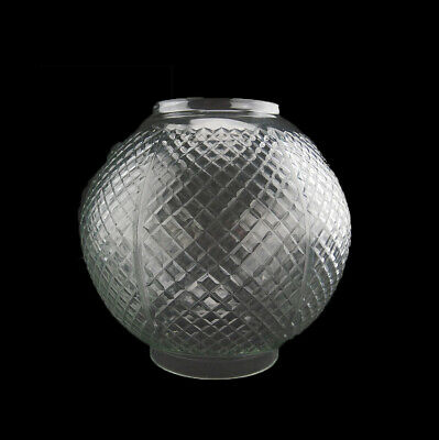 £65 • Buy Crystal Cut  Oil Lamp Shade Suitable For Duplex Double Wick Lamp