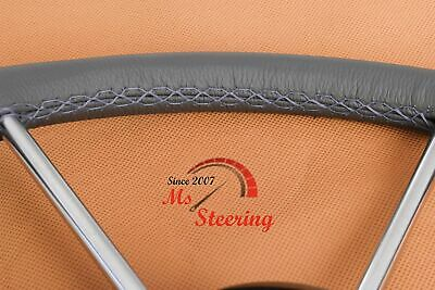 $127.22 • Buy For Mac Gregor 26 Dia 40''- 44''  Leather Steering Wheel Cover  Diff Colors