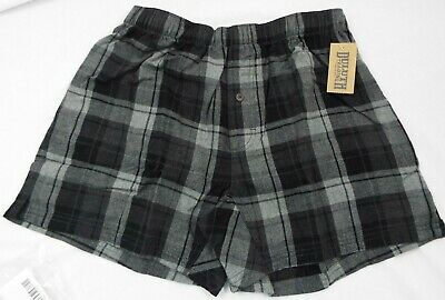 $28.04 • Buy 1 Duluth Trading Co Free Swingin' Flannel Boxers Black And Grey Plaid 94230