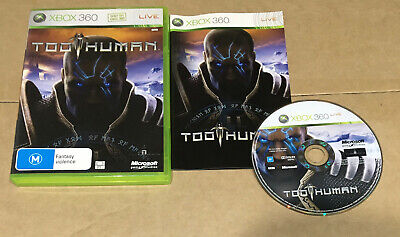 AU8.33 • Buy Too Human - Xbox 360 - COMPLETE - AUSSIE SELLER - FREE POST