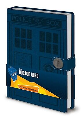 A5 Premium Doctor Who Tardis Blue Notebook Official Licensed Hardback Journal • 11.95£