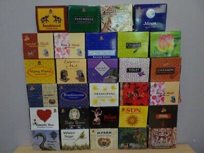 AU3.95 • Buy Kamini - Incense Cones ~ You Choose~ (28 Fragrances To Select From) Free Post AU