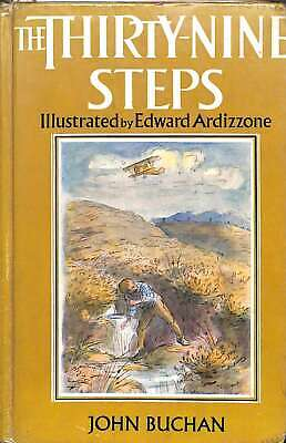 The Thirty-Nine Steps Illustrated By Edward Ardizzone, John Buchan, Good Conditi • 19.44£