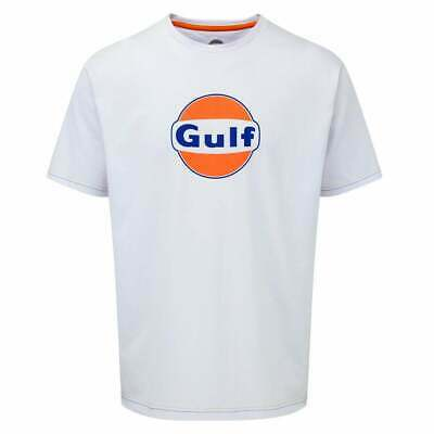 Gulf Collection Logo T-Shirt White ADULT • 20£