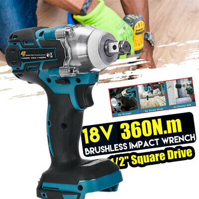 Replacement For Makita DTW285Z LXT Brushless 1/2in Impact Wrench 18V %Body Only# • 42.99£