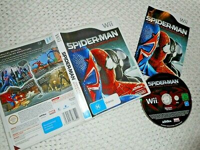 AU9 • Buy Wii - SPIDER-MAN. Shattered Dimensions