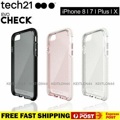 AU19.90 • Buy ✅TECH21 Evo Check Ultra Thin Case IPhone 6 7 8 Plus + X XR XS 11 Pro Max Cover
