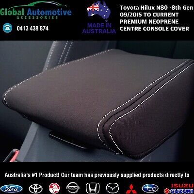 AU44.95 • Buy Fits Toyota HiLux N80 Neoprene Centre Console Cover - Workmate, SR, SR5 8th Gen