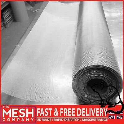 Aluminum stainless mesh 1m Insect Fly Bug Mosquito Spider Wasp Rodent Cage vent