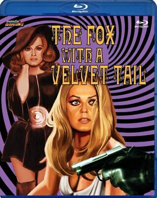 THE FOX WITH A VELVET TAIL - Blu-ray - Cult Euro Horror Giallo Uncut - Region A • 22.50£