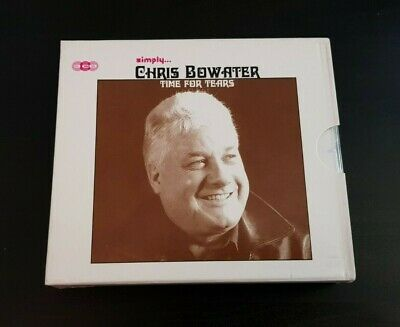 Cd Triple Album - Chris Bowater - Time For Tears - Simply • 4.50£