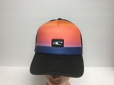 $15.95 • Buy O'NEILL - Black Sunset Color Adjustable SnapBack Hat Mesh Back Cap