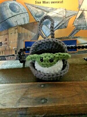 $15 • Buy Amigurumi Crochet Baby Yoda Inspired By The Mandalorian Ornament
