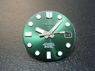 $ CDN64.16 • Buy New Seiko Aftermarket Mm300  Green Hulk  Dial Date Only Will Fit Seiko Skx007