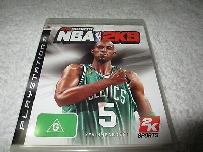 AU8 • Buy PS3 Playstation 3 Game NBA2K9  With Booklet  DD33
