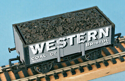 Dapol Western Coal Co, Bristol, Mineral Wagon Nº 37 + Added Coal Load, LE Of 132 • 0.99£