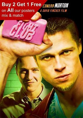 Fight Club 1999 Movie Poster A5 A4 A3 A2 A1 • 0.99£