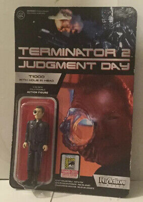 T-1000 Hole In Head SDCC 2015 - Terminator 2 ReAction Action Figure • 20£