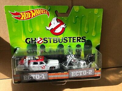 HOT WHEELS DIECAST - Ghostbusters - Ecto-1 & Ecto-2 - Combined Postage • 14.99£