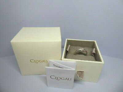 Clogau Gold, Silver & Rose Gold Past Present Future Ring Size O RRP £79 • 38£