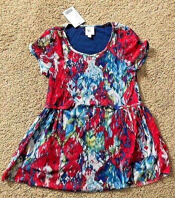 $ CDN33.71 • Buy Anthropologie Made In San Francisco Multicolor Peplum Blouse ~ Size XS ~ NWT!
