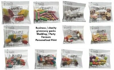 £499.74 • Buy Printed Sweet Packs Business Expo Exhibition Corporate Gift 20g Halal