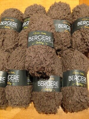 Bergere De France Knitting Yarn  Teddy  Chunky 9 X 50gm Balls • 45£