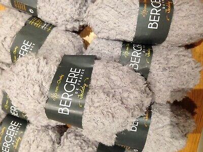 Bergere De France Knitting Yarn  Teddy  Chunky 9 X 50gm Balls • 40£
