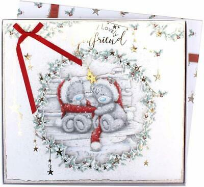 Me To You Bear Lovely Girlfriend Giant Boxed Christmas Card • 14.99£