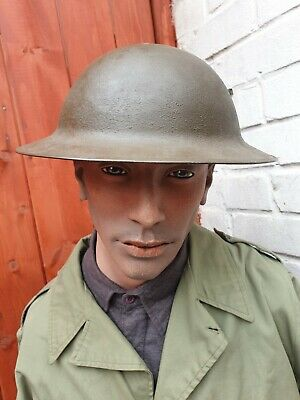 Original WW1 US Army M1917 Brodie Steel Helmet 1st World War American Army  • 250£