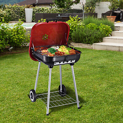 $ CDN89.99 • Buy Outsunny 22  Portable Barbecue Grill Charcoal Kettle Outdoor Camping Cooking