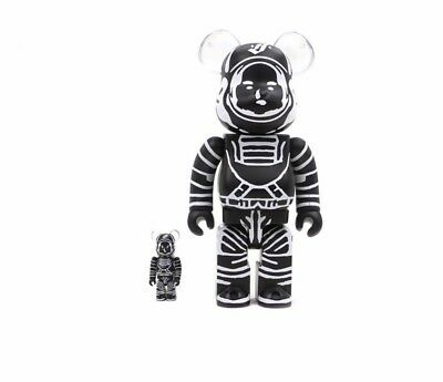$420 • Buy  MEDICOM TOY BLACK ASTRONAUT Billionaires Boy Club BBC BEARBRICK  SET 100%+ 400%