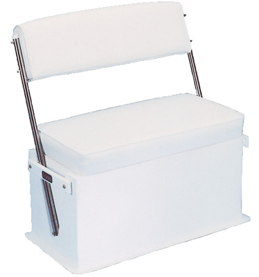 Swing Back Steuerbank 47l Iso Box Boat Seat Helm Seat Cooler Foldable • 809.96£