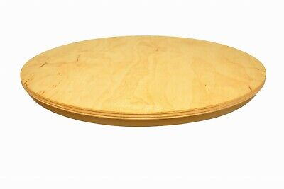 £15.99 • Buy Rotating Board Lazy Susan Round Circular Wooden Plywood Serving Pizza 14 Inch