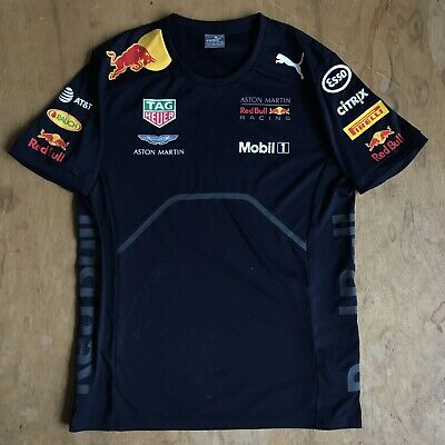 Red Bull Racing T Shirt Official F1 Aston Martin MEDIUM • 26.99£