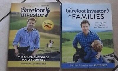 AU45 • Buy The Barefoot Investor Updated 2018 + Barefoot Investor For Families By Scott Pap