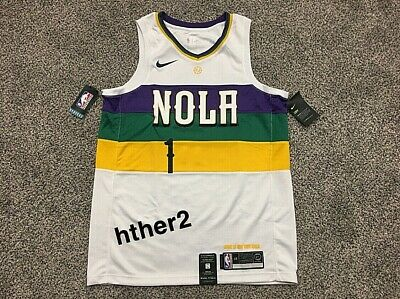 $129.99 • Buy Zion Williamson Nike City Edition Swingman Jersey New Orleans Pelicans IN HAND