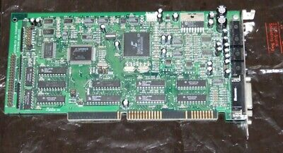 AU80 • Buy MultiWave 16-bit ISA Sound Card For 286 386 486 Early Pentium Computer
