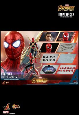 $ CDN456.03 • Buy Hot Toys MMS482 Iron Spider Avengers Infinity War Spiderman Unopened In Stock.