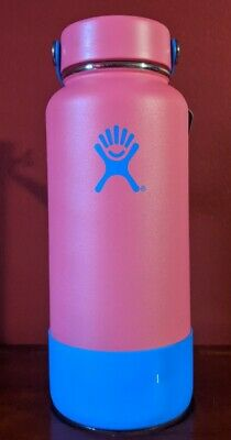 $94.95 • Buy Hydro Flask 32 Oz Wide Mouth Bottle Movement Limited Edition Fuchsia