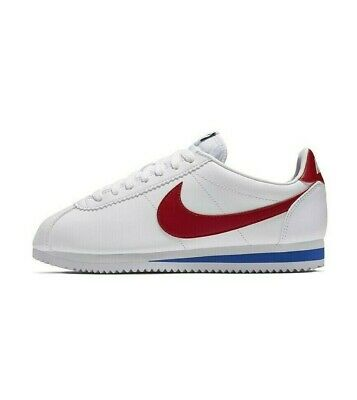 AU159.95 • Buy Nike Women's Classic Cortez Shoes Sneakers White Red 807471-103 Size 5-11
