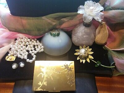 $ CDN99.42 • Buy Vintage Lot Of Designer High End Jewelry & Collectables