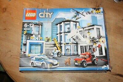 LEGO City Police Station, Helicopter Car & Bike Toys - 60141 • 30£