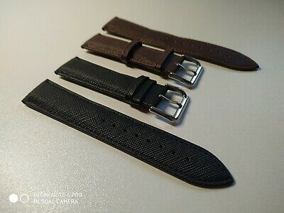 £12.90 • Buy Real Leather Strap For Rotary/Accurist/Timberland/Guess Watch Buckle 18/20/22 Mm