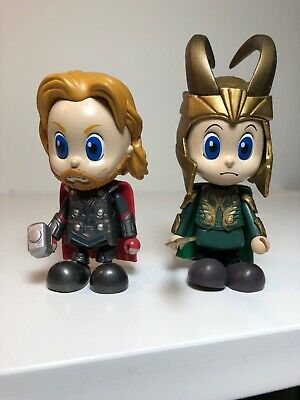 $ CDN81.83 • Buy Hot Toys Marvel Avengers Cosbaby THOR  AND LOKI THE AVENGERS 2011 3in