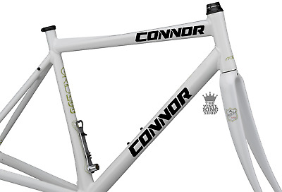 2 X Personalised Bike Name Vinyl Decal Stickers - Cyber Font Custom Cycle Bmx • 2.99£