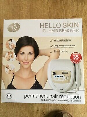 Rio Hello Skin IPL Hair Remover With 150,000 Flashes For Face, Body & Bikini • 30£