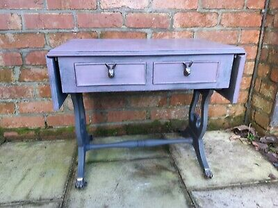 Upcycled Telephone Table In Annie Sloan Paint With Hare Handles • 85£
