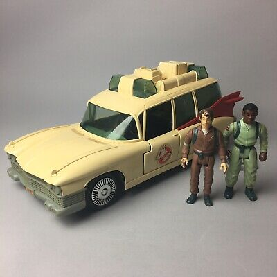 REAL GHOSTBUSTERS Retro 1984 'Ecto 1' Collectable Toy Vehicle + 2 Figures Kenner • 49.95£