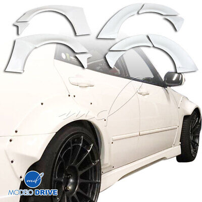 $599 • Buy FRP MSV Wide Body Fender Flare Set 10pc 4dr For Lexus IS Series IS300 00-05